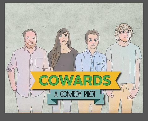 "Cover of the Promotional Book ""Cowards"""