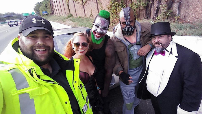 Howard County REACT Member Saves Batman Villians