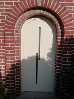 deur met vleugeloverdekkend paneel Equis