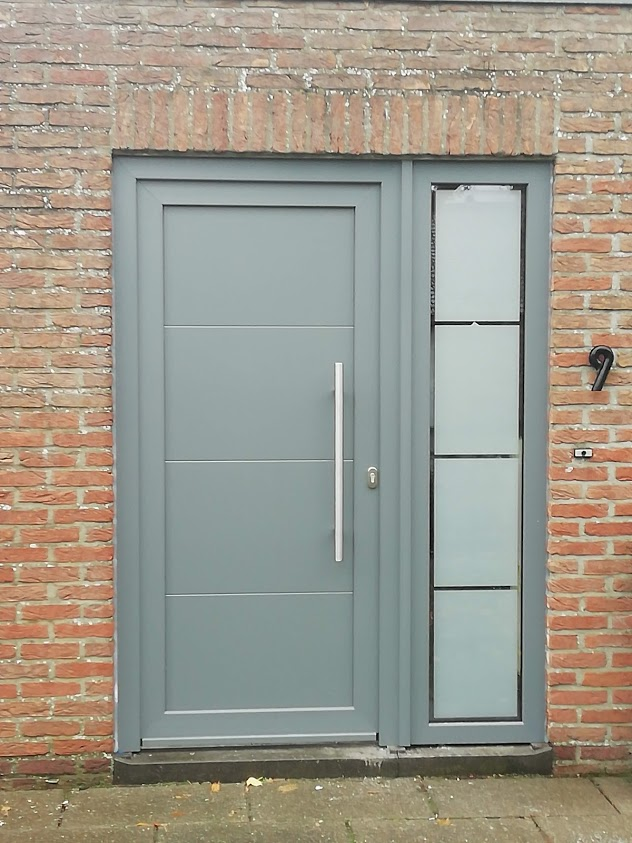 deur met paneel LD design C nevenlicht m