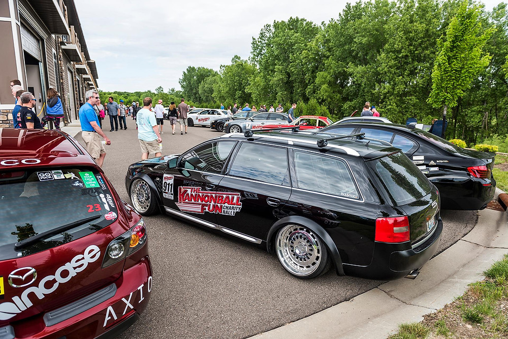 2016 Kannonball Rallyers at MN Cars and Coffee