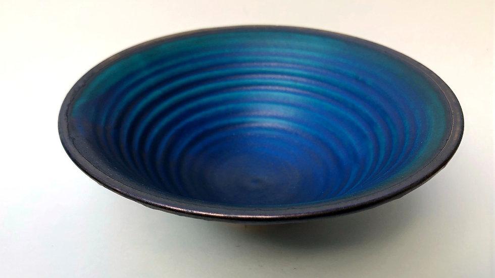 Lapis blue and bronzebowl