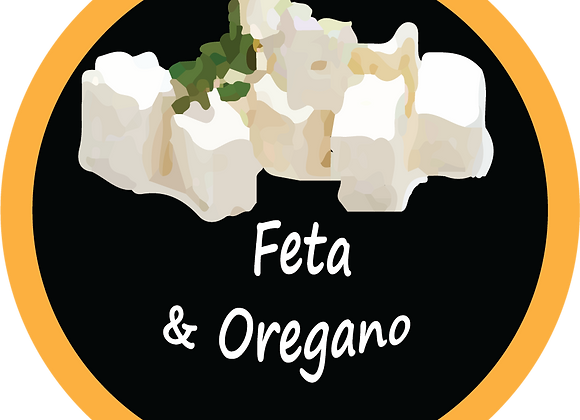 FETA CHEESE & OREGANO