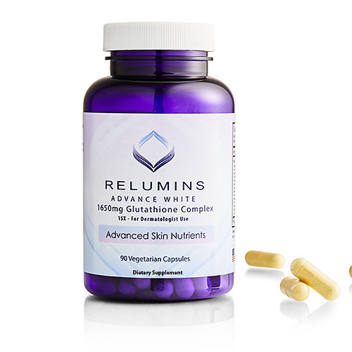 RELUMINS ADVANCE 1650MG GLUTHATHIONE COMPLEX