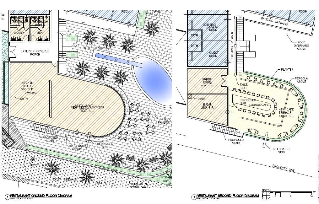 Restaurant Ground Floor Diagram