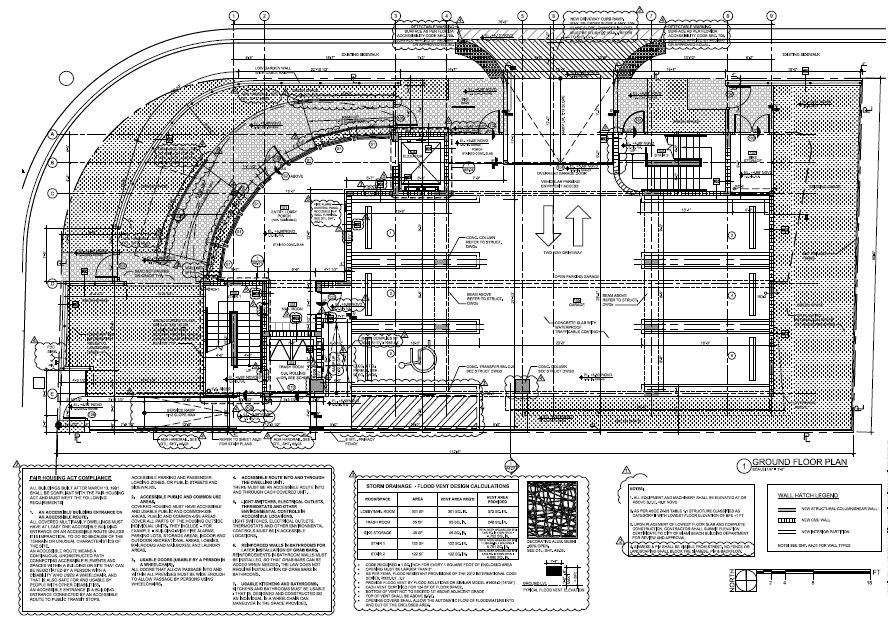 New Lofts. Ground Floor Plan