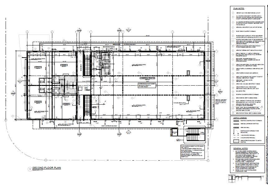 Knoxon Second Floor plan