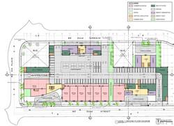 Level 1. Ground floor diagram
