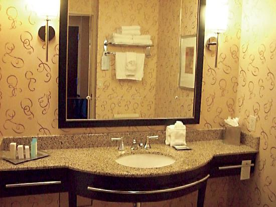 Houston Hilton_bathroom detail