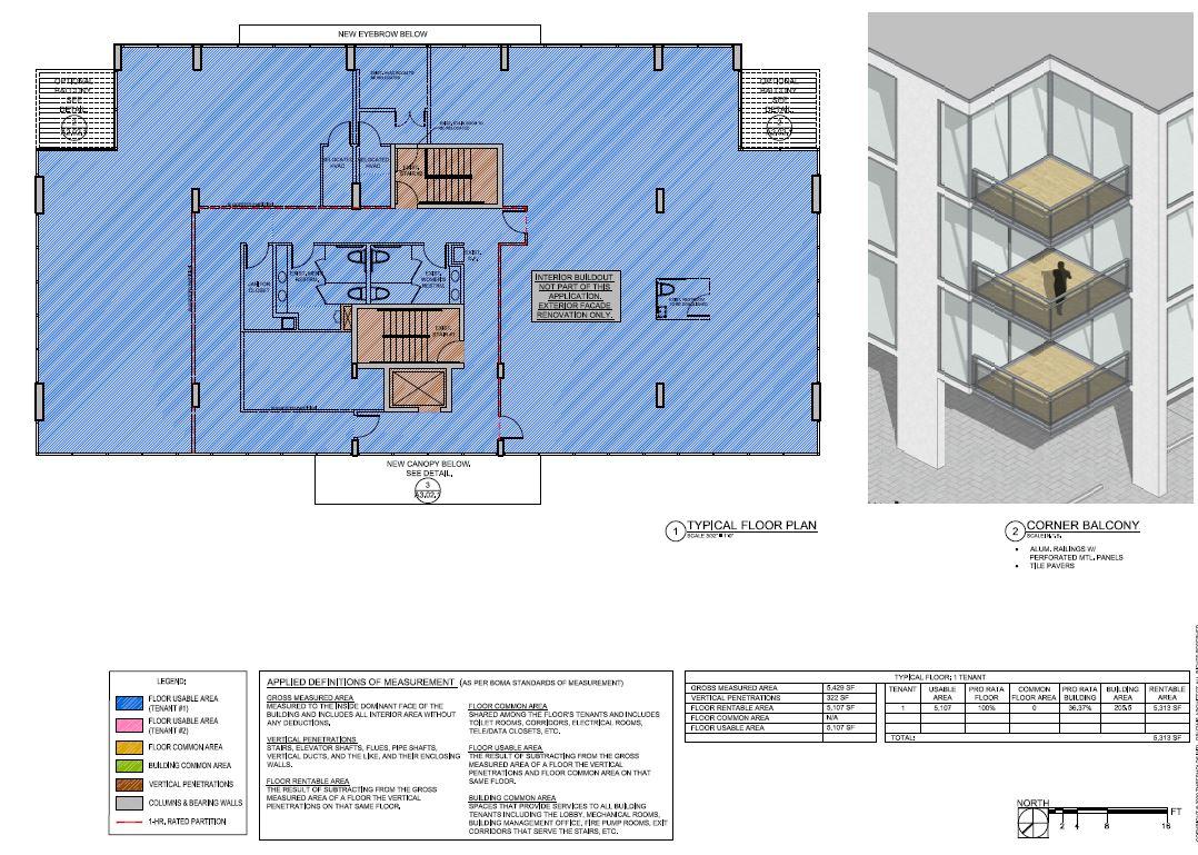 5555 Biscayne Blvd. Typical Floor Plan