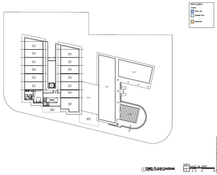 Third Floor Diagram