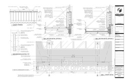 Park Drive. Proposed wall section details