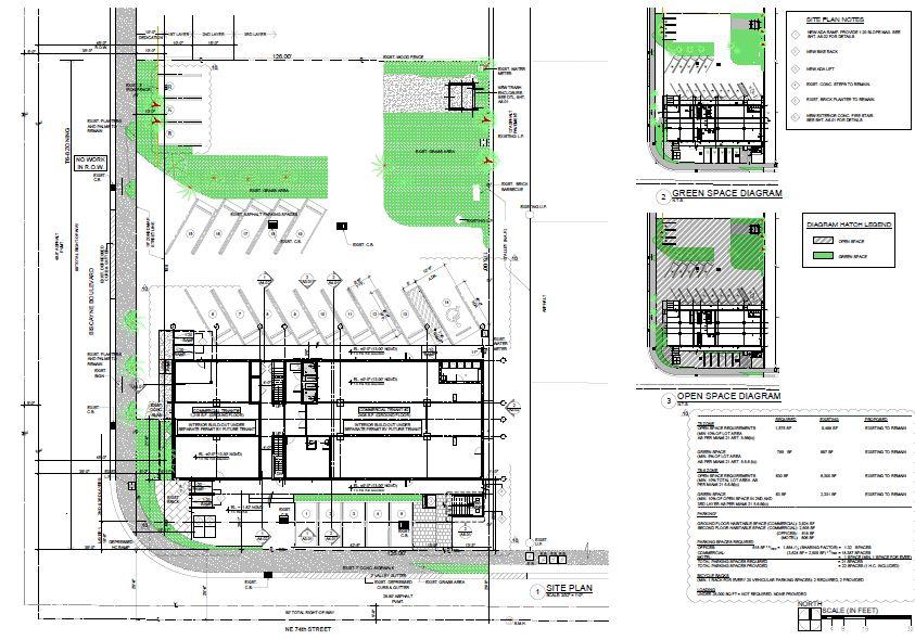 Knoxon Site plans