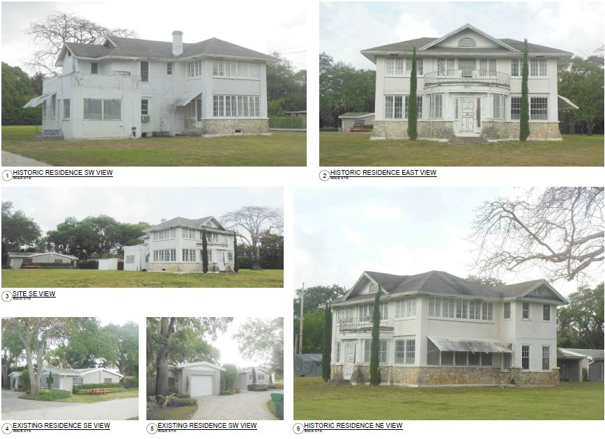 Chateau Bittan. Existing Site Pictures