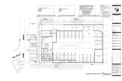 Park Drive. Ground floor - site plan