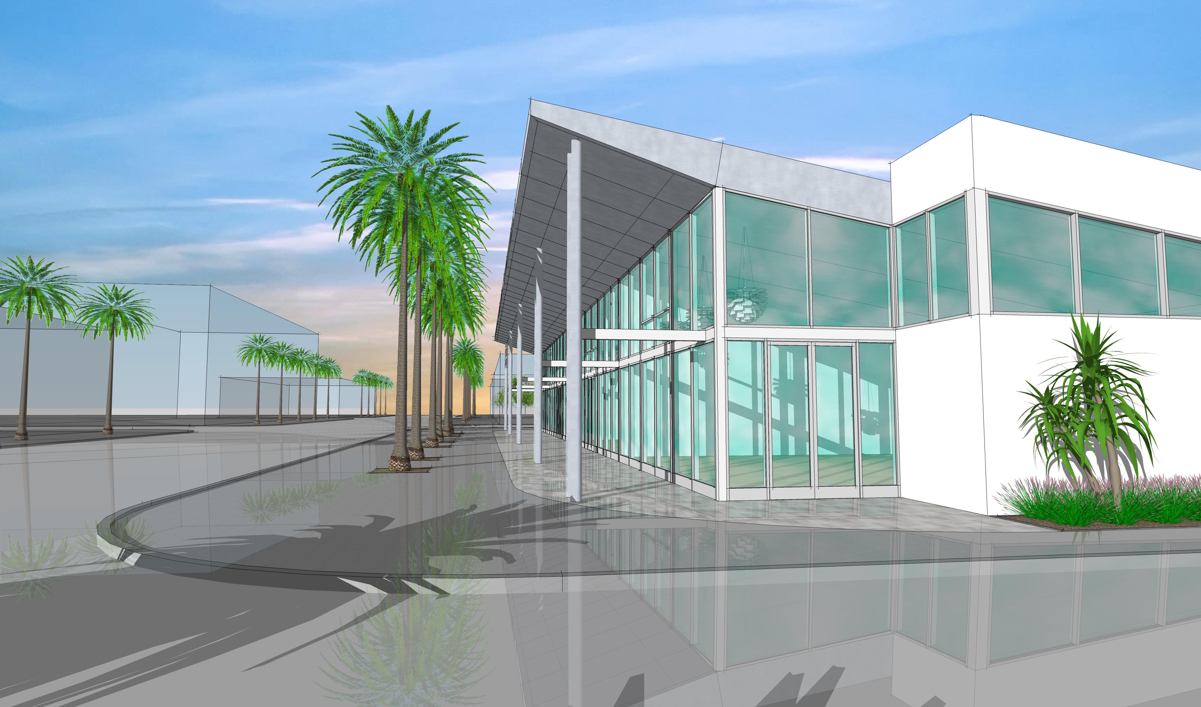 3D Study SE building facade