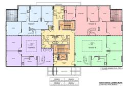 5555 Biscayne Blvd. Floor Leasing Plan Type 4