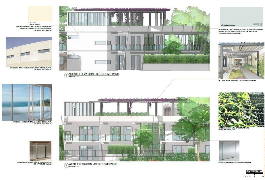 Chateau Bittan. New Building Materials Palette