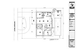 Graber Residence. Proposed site plan