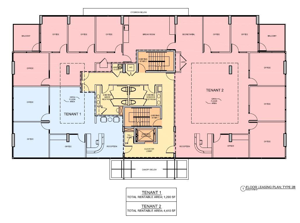 5555 Biscayne Floor Leasing Plan