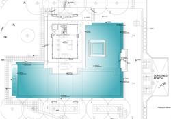 Weston Residence. New Pool Cabana Plan