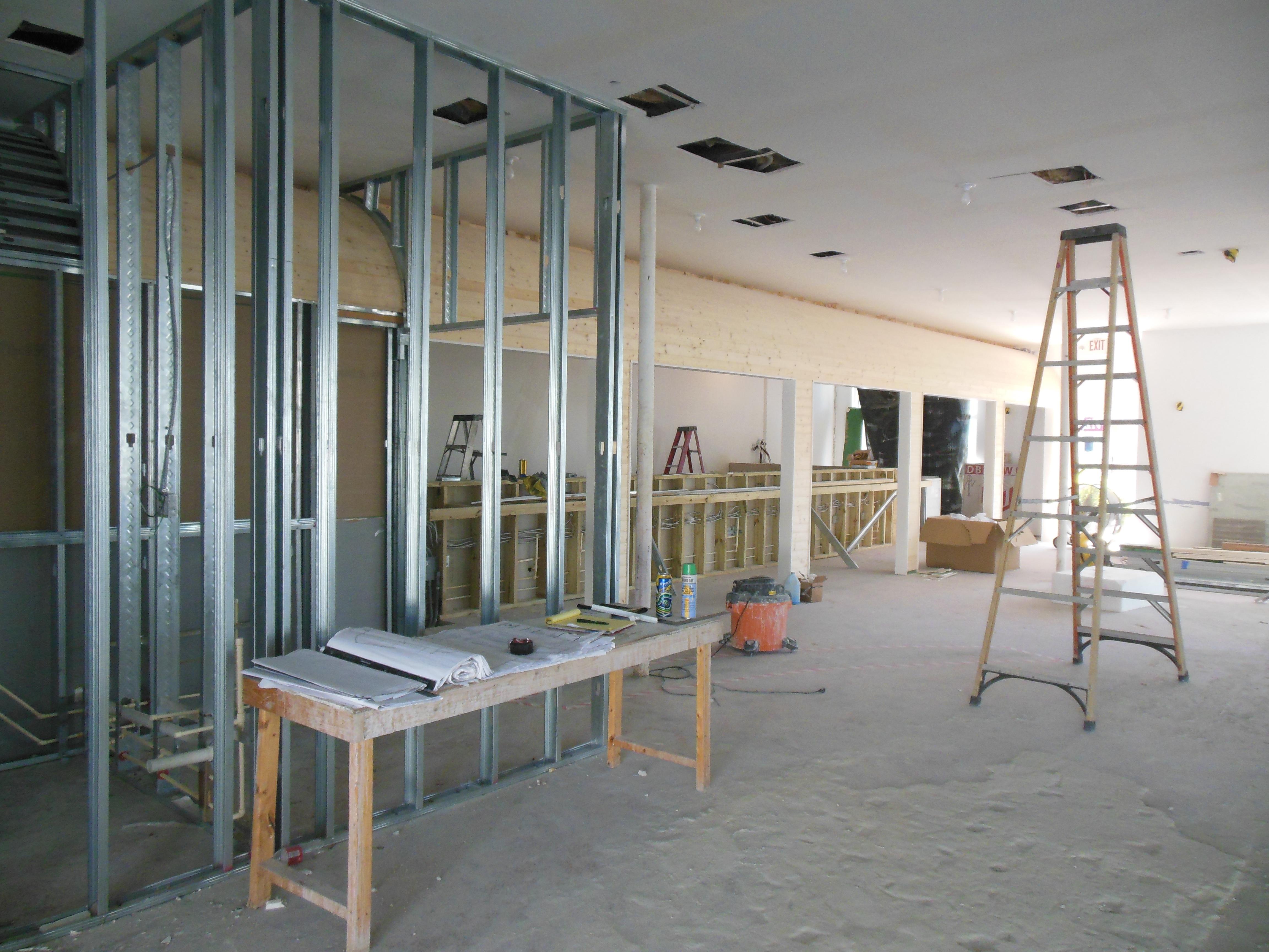 Construction: October 2014