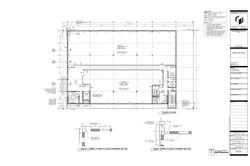 Park Drive. Proposed third floor plan