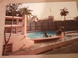 Historic Picture of Pool Area
