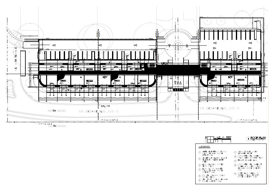 Morningside Centre. Roof Plan