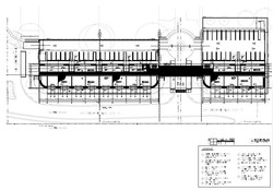 Morningside Centre. Roof Plan