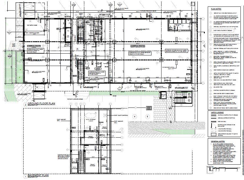 Knoxon Basement and G. Floor plan