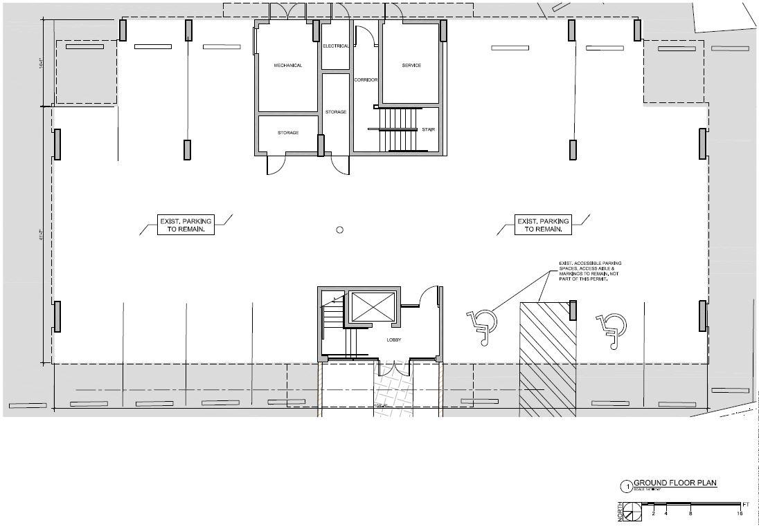 5555 Biscayne Blvd. Ground Floor Plan