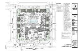 Vagabond Motel. Ground floor site plan