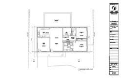 Graber Residence. Existing floor plan