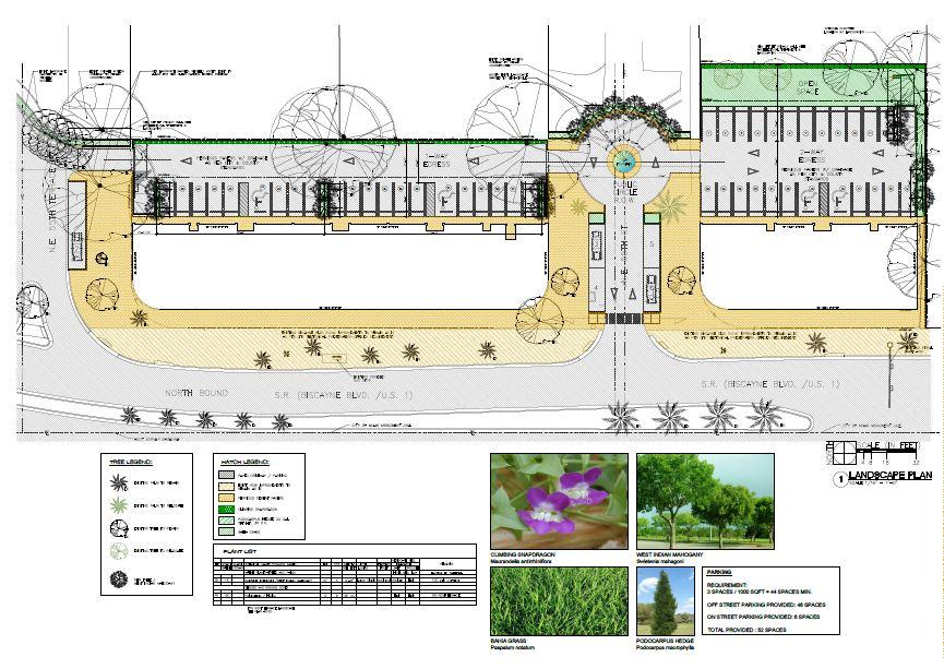 Morningside Centre. Tree Disposition Plans