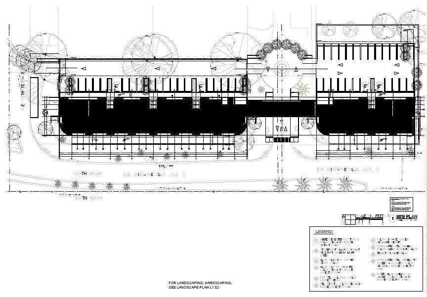 Morningside Centre. Site Plan