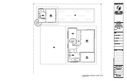 Graber Residence. Proposed second floor plan