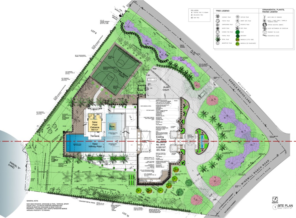 Weston Residence. New Master Site Plan