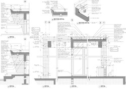 Weston Residence. Cabana details