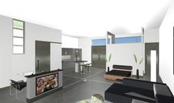3D Study of Interior Spaces
