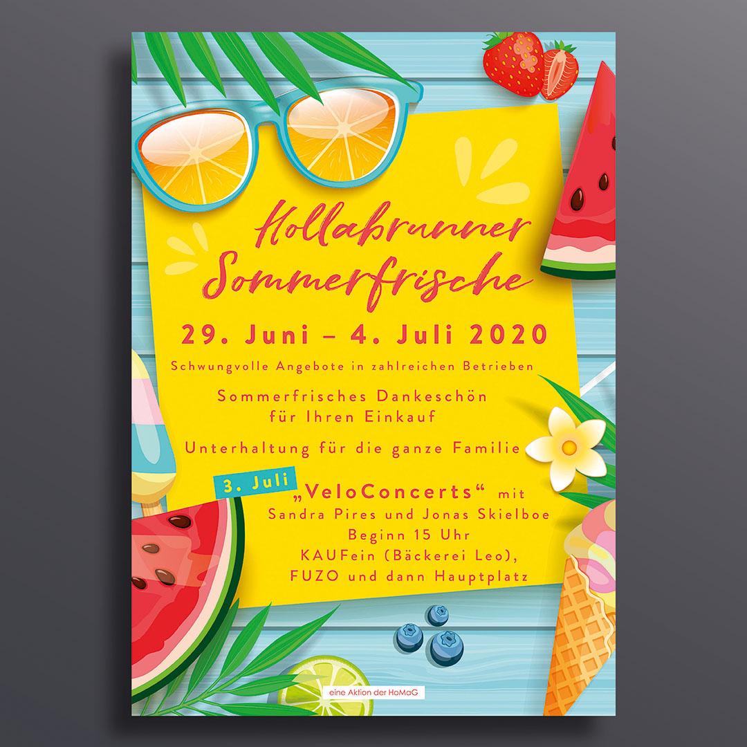 A1-Plakat - Sommerfrische 2020