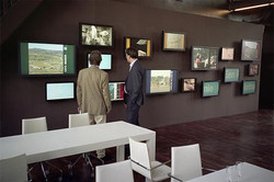 Multi screen video wall interactive