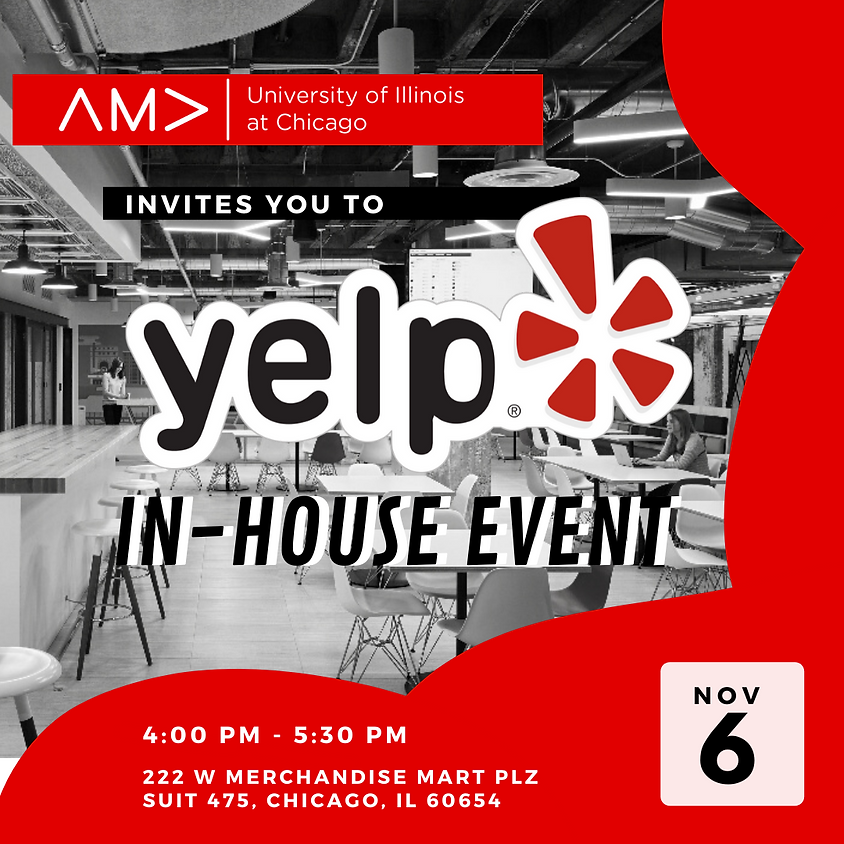 Yelp In-House Event