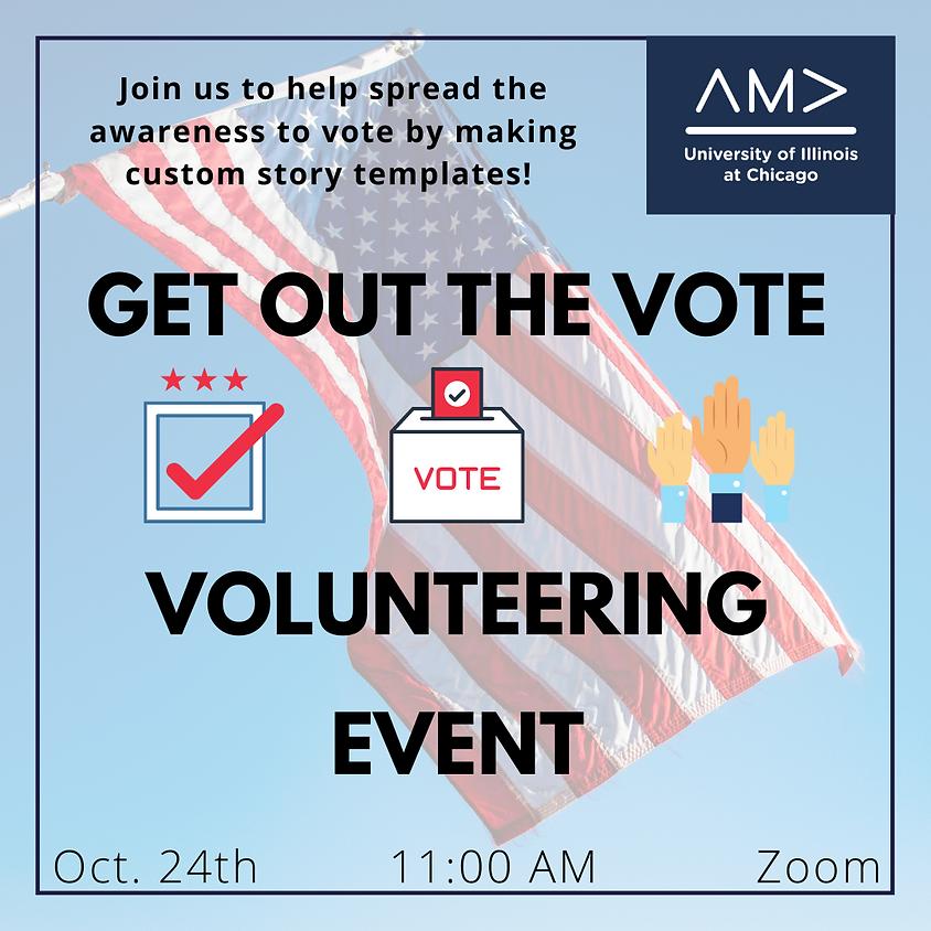 Get out that Vote Volunteering