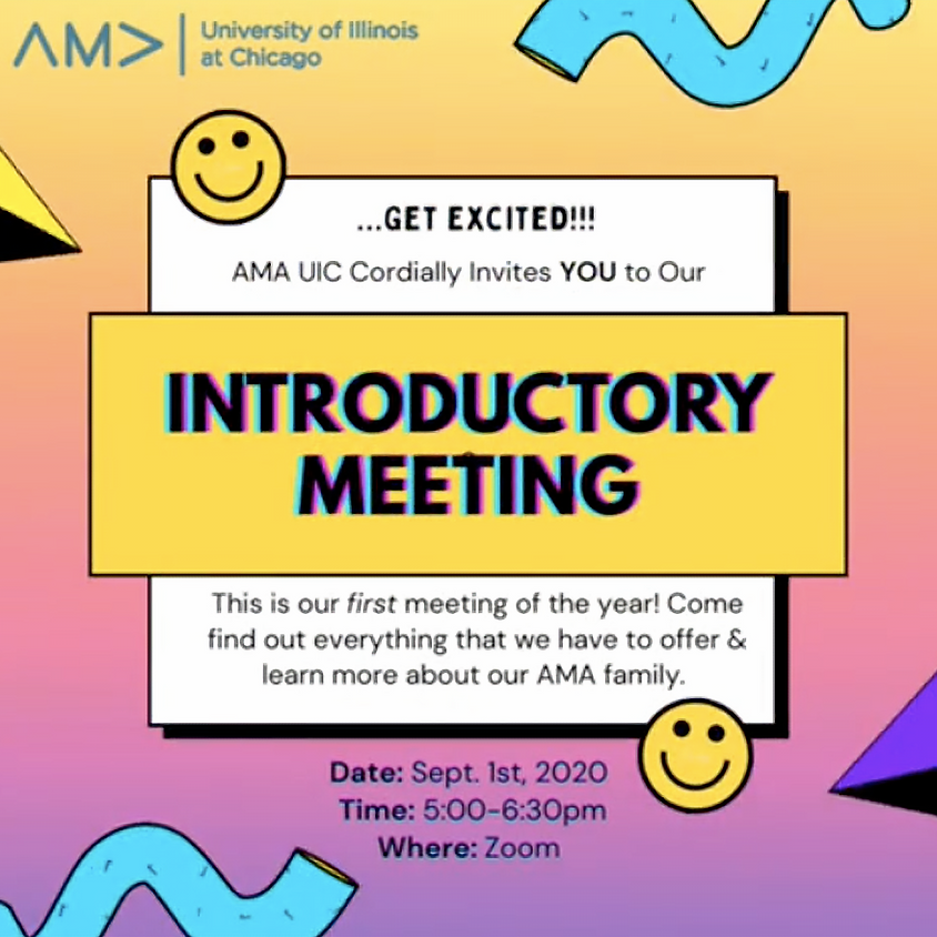 2020 Introductory Meeting