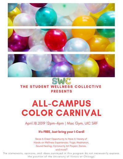 Student Wellness Center Event