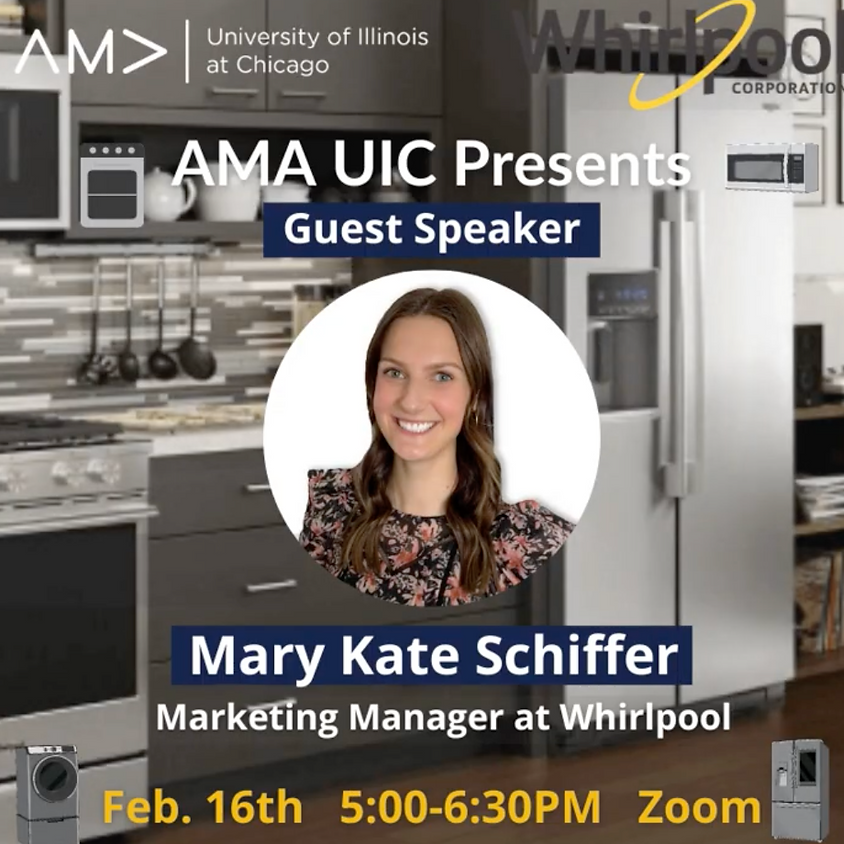 Mary Kate Schiffer - Marketing Manager at Whirlpool
