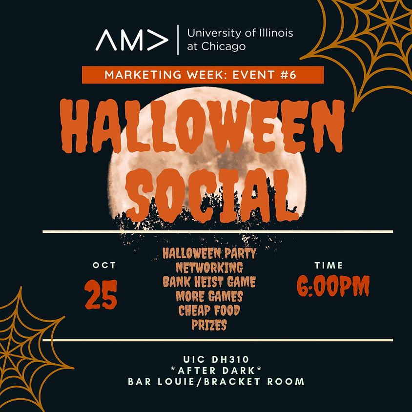Marketing Week: Halloween Social