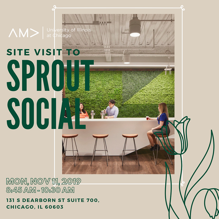 Site Visit to Sprout Social