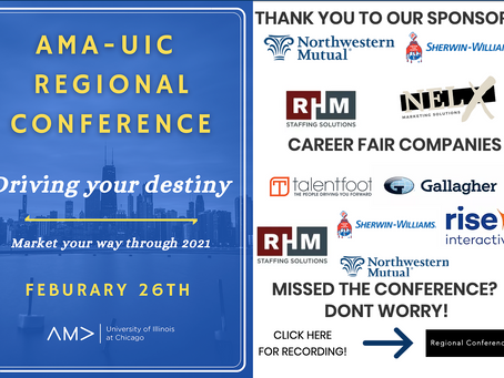 AMA Regional Conference Results!